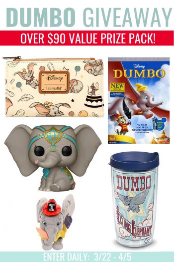Dumbo FunkoPop, Dumbo DVD, Dumbo Tumbler, Loungefly Dumbo clutch
