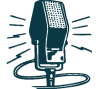 retro microphone graphic